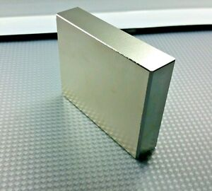 1 Huge Neodymium Magnets Super Strong Rare Earth N52 Grade 3 X 2 3 X 65
