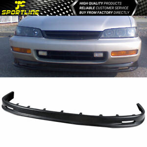 Fits 96 97 Honda Accord Mugen Style Urethane Front Bumper Lip Spoiler Bodykit