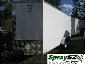 Spray Foam Insulation Equipment Trailer Rig 30 Lb mn Package Graco Fusion Gun