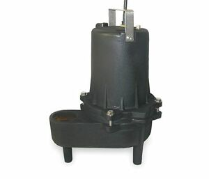 4cre4 Submersible Sewage Pump 4 10hp 1 Phase 115v