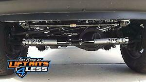Fox 2 0 Dual Steering Stabilizer Kit For 2013 2018 Dodge Ram 2500 Hd 3500 Hd