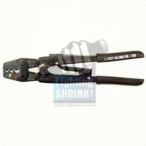 Lightingshrink Ratcheting Crimper Tool