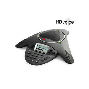 Polycom 2200 15660 001 Soundstation Ip 6000 Conference Corded Voip Phone With Ac
