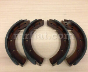 Porsche 356 Pre A Up To Bt6 Forged Brake Shoe Set 1st Oversize 281 Mm New