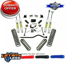 Superlift 4 Suspension Lift Kit For 2007 2018 Jeep Wrangler Jk 4 2 Door
