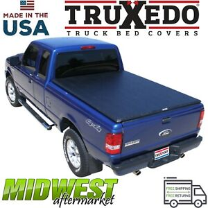 Truxedo Truxport Soft Roll Up Tonneau Cover 93 08 Ford Ranger Step Side 6 Bed