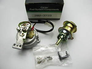 Carter 202 3733 Carburetor Choke Pull off For 1981 1985 Mazda Rx 7 12a Rotary