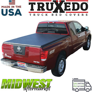 Truxedo Truxport Roll Up Tonneau Cover For 00 04 Nissan Frontier Crew Cab 4 6