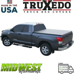 Truxedo Truxport Soft Roll Up Tonneau Cover For 2014 2017 Toyota Tundra 6 6 Bed