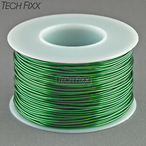 Magnet Wire 20 Gauge Awg Enameled Copper 158 Feet Coil Winding And Crafts Green