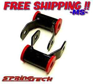 St 1992 1999 Chevy Gmc Suburban Tahoe 1 5 Shackles Shackle Leveling Lift Kit