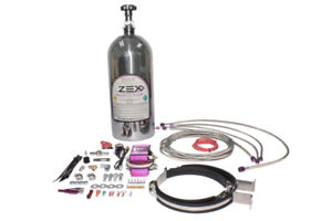 Zex Nitrous System Kit For Chevy Ls1 Wet Kit W Polished Bottle 82026p
