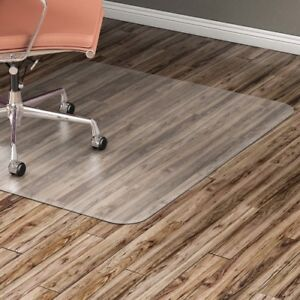 Hard Floor Chairmat Rectangular 46 x60 Clear Llr82827