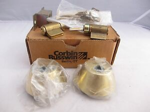 New Corbin Russwin Dl2112 605 double Cylinder Deadbolt