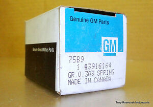 Gm 3916164 Bbc Valve Springs L88 Zl1 Ls7 Hd 427 454 Engines Set Of 6