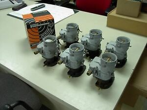 6 Brand New 1932 Ford Coupe Barn Find 392 Hemi Stromberg 97 Carb Carburetors