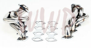 Performance Stainless Steel Exhaust Headers Kit 97 03 F150 f250 expedition 5 4l