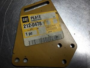212 0478 Cat Plate Caterpillar 2120478 Fits Cat D3g D4g D5g 3046