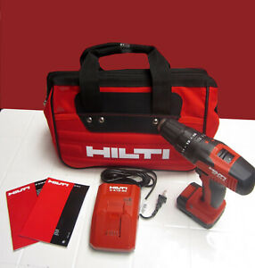Hilti Sf 2h a Hammer Drill Complete Kit New Model With Hilti Bag Fast Ship