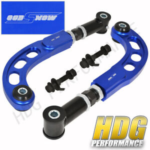 2005 2010 Scion Tc Ant10 Race Cnc Adjustable Front Bolt Rear Camber Arm Kit Blue