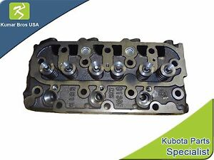 New Kubota D1105 complete Cylinder Head With Valves