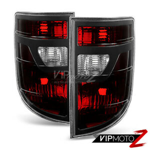 2006 2007 2008 Honda Ridgeline Smoked Red Brake Taillights Tail Lamps Lh Rh
