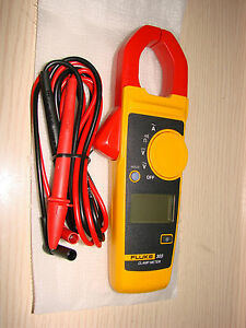 Fluke 303 Digital Clamp Meter Current Voltage Multimeter 1000a W Tl75 Test Lead