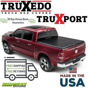 Truxedo Truxport Soft Roll Up Tonneau Cover 2009 2017 Dodge Ram Crew 5 7 Bed