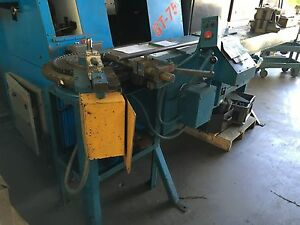 Di acro Model 4 Tube Pipe Bender Hydraulic W Programmable Plc
