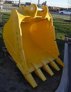 60 Heavy Duty Excavator Bucket Komatsu Pc400 100mm Pins