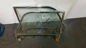 1948 Plymouth Convertible Driver Side And Passenger Window Frames And Glass P15