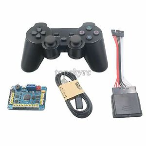 32 Channel Servo Control Board Ps2 Handle Controller Receiver For Rc Robot
