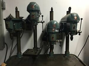 Delta Rockwell 4 Head Spindle Multi Drill Press Station