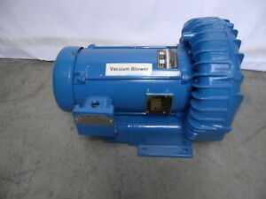 Gast Regenair Blower Model 3 Hp 1 Ph 200 240 Volts Refurbished