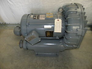 Gast Regenair Blower Model R710cr 50 8 Hp 3 Ph Refurbished