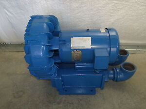 Rotron Eg g Blower Model Br808ay72x 7 5hp 3ph Refurbished