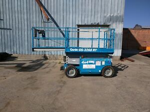 2007 Genie Gs 3268rt Rough Terrain Scissor Lift