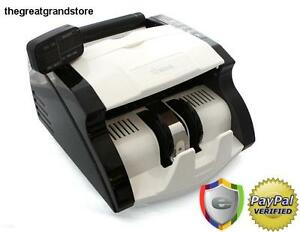 Money Cash Machine Counter Bank Uv Mg Counterfeit Bill Detection Currency Energy