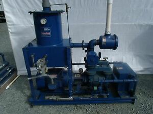 Travaini Dynaseal Tro200v 1a Liquid Ring Vacuum Pump 24 hg 200 Cfm 15 Hp