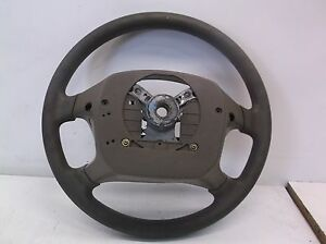 Ns602244 2002 Toyota Corolla Steering Wheel Leather Browm Oem