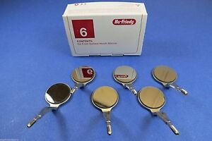 Dental Rhodium Mirror Set Double Sided 5 Mir5ds 6 Hu Friedy