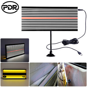 Pdr Tool Led Reflector Line Board 2 Sides Light Scrach Paintless Dent Removal