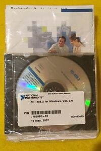 Ni National Instruments For Windows Ver 2 5 Model Ni 488 2 Software Only
