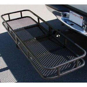 60 Folding Cargo Carrier Luggage Rack Hauler Truck Or Car Hitch 2 Receiver