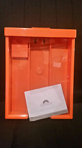 Brochure Box Orange With 2 Led Solar Light Box Of 12