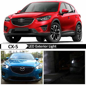 15x White Interior Exterior Led Light Package 2013 2015 Mazda Cx5 Cx 5