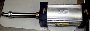 Parker 4ma Pneumatic Air Cylinder Actuator 3683128c91l 4 Bore 5 1 2 Stroke