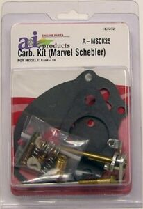 Case Complete Carburetor Kit Fits Models Va Vac