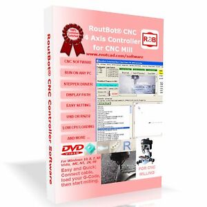 Cnc Mill Controller Software For 4 Axis Step Motor Using Pc Parallel Port Cd flp