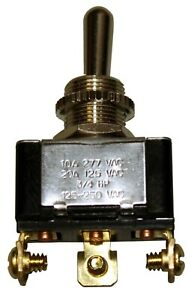 Spdt Electric Toggle Switch 70 000 Series E 60272 Lr 39145 10 20 A 125 277 Vac